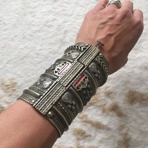 Incredible Vintage Cuff from India